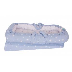 Co-sleeper anti-reflux Blue Stars SeviBebe