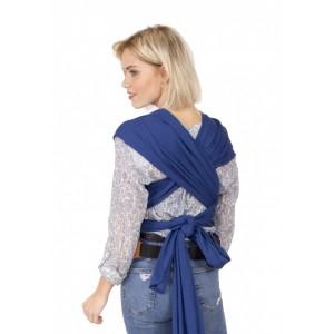 Sal purtare elastic cu suport lombar albastru