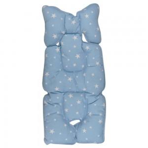 Protectie textila pt carucior/scaun Blue Stars