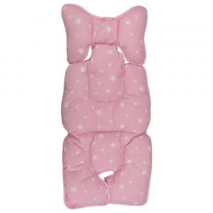 Protectie textila pt carucior/scaun Pink Stars