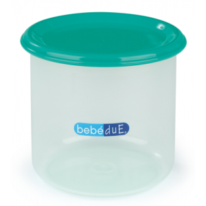 Recipient cu capac 300 ml Bebedue Verde
