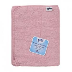 Prosop bumbac organic Pink 75x150cm XKKO