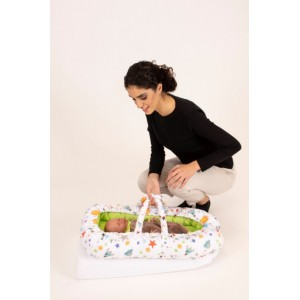 Co-sleeper anti-reflux Green Space   Sevibaby