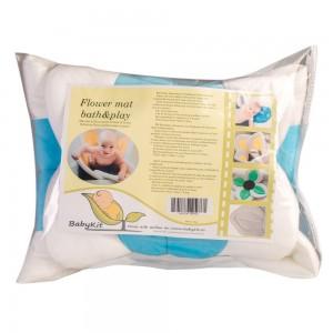 Salteluta de baie si joaca Floare Albastra Babykit