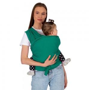 Wrap elastic cu suport lombar verde SeviBebe