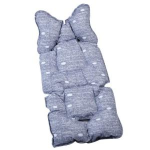 Protectie textila carucior Sevi Bebe Jeans Design
