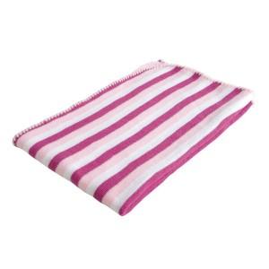 Paturica Baroo Stripe Roz/Alb