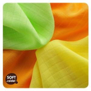 Set 9 museline din bambus 30x30cm Colours Mix  XKKO
